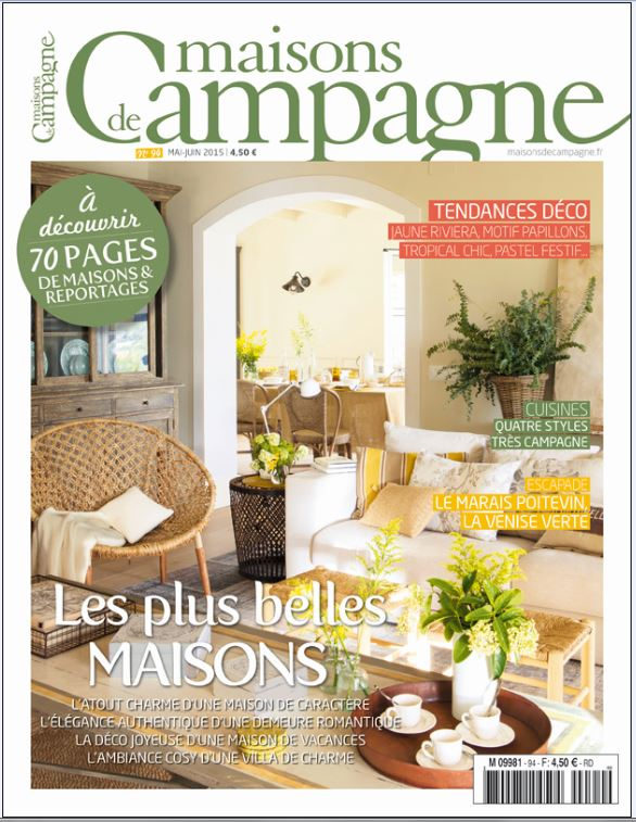 beautiful magazine maisons de campagne contemporary. Black Bedroom Furniture Sets. Home Design Ideas